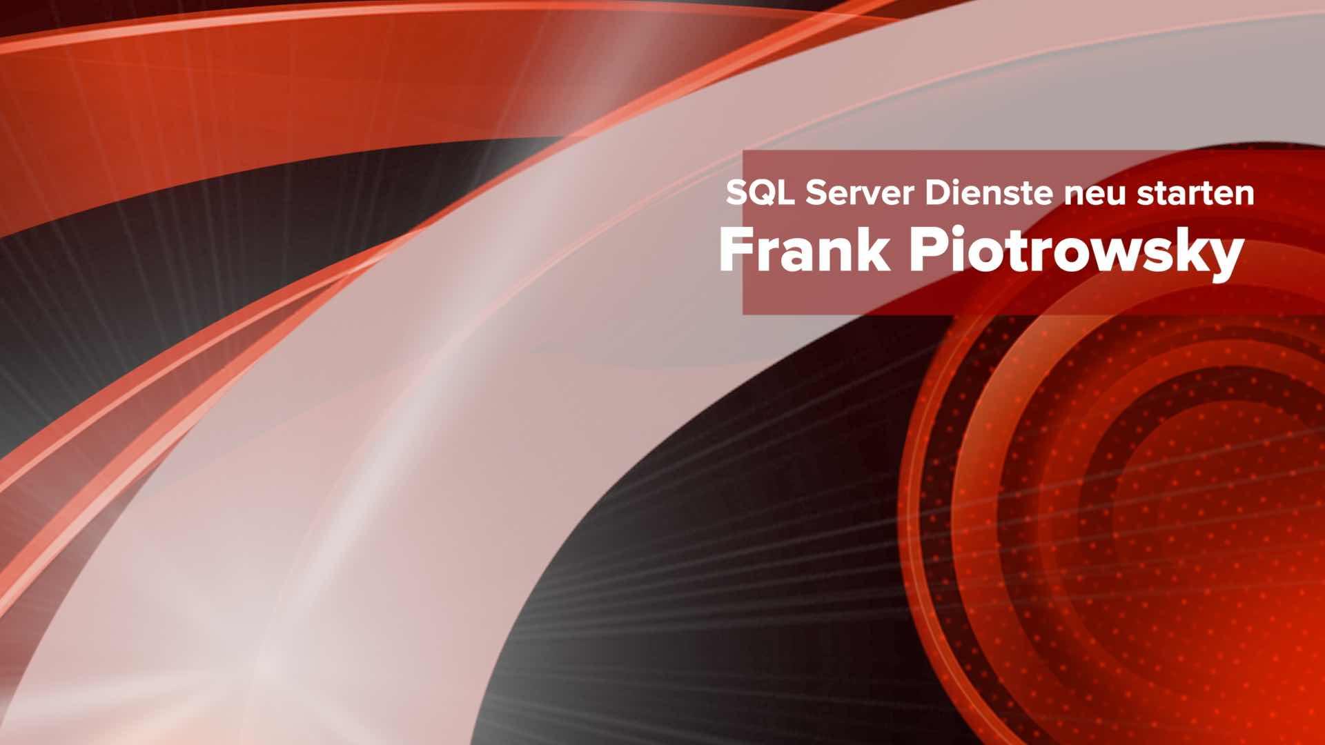 SQL Server Dienste