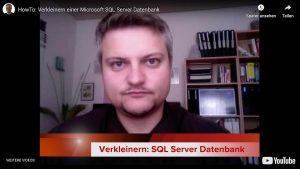 verkleinern SQL Server Datenbank