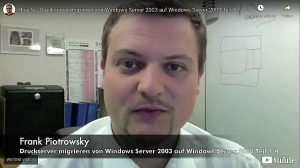 Druckservermigration – Windows Server – Teil 1 von 3